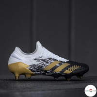Sepatu Bola Adidas Predator Mutator 20.1 Low White Gold FootBall Shoes