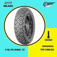 Ban Motor VESPA MATIC // ZENEOS MILANO 110/70 Ring 12 Tubeless