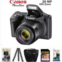 CAMERA CANON POWERSHOT SX430 IS RESMI PAKET
