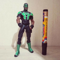 mainan action figure Green lantern simon baz Dc collectibles original