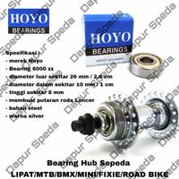 bearing freehub/hub/bos sepeda roda belakang 6000ZZ Seli,mtb,Minion,
