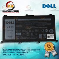 Baterai Original Dell 15-7559 / 357F9 INSPIRON 15 5577 7557 7559 7567