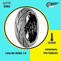 Ban Motor Matic // ZENEOS ZN62 100/80 Ring 14 Tubeless