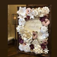Paper Flower Backdrop Board