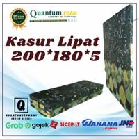 Kasur Lipat 4 Quantum Busa Tebal Murah Bagus Promo 200 x 180 x 5
