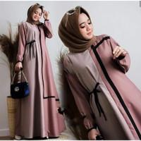 Baju Muslim Wanita jumbo murah Famela maxic