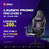 MSI Gaming Chair MAG CH130 X / MAGCH130X / MAG-CH130X