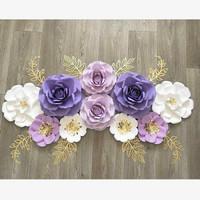 Paper Flower Backdrop 002