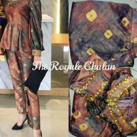 Baju Set Jumputan 3 Modern Asli Palembang