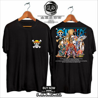 Kaos Baju Anime One Piece mugiwara strawhat luffy Pirate Wano