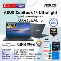 ASUS ZENBOOK 14 ULTRALIGHT UX435EAL I5-1135G7 8GB 1TB 14 FHD W10 OHS