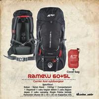 Carrier Rei Arei Ramelu 60+5L Tas Keril Gunung Camping Hiking
