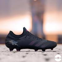 Sepatu Bola Adidas Predator Mutator 20.1 Low Black Purple FootBall