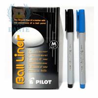 Pulpen Pilot Ballliner ( Ball Liner Medium 0,8 mm ) - Satuan