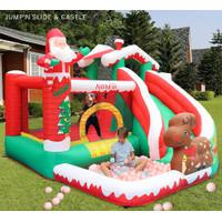 Istana balon Inflatable Castle bouncer Kolam renang Anak Slide Pool