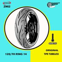 Ban Belakang Motor PCX // ZENEOS ZN62 120/70 Ring 14 Tubeless