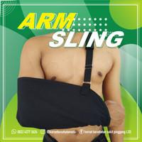 Arm Sling / Gendongan Tangan / Penyangga Tangam / Tangan Patah - Hitam