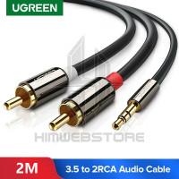 UGREEN10584 Kabel Audio Auc 3.5mm To 2RCA Hifi Stereo Sound Splitter