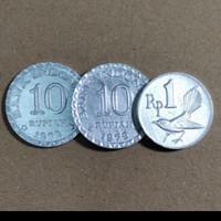 Uang Set 21 Rupiah Mahar Koin Kuno Indonesia Paket Ekonomis