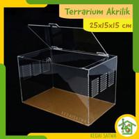 Aquarium Box Kandang Reptil Akrilik Vivarium Acrylic Terarium