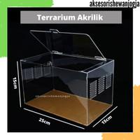 Aquarium Reptil Akrilik   Vivarium Acrylic   Terarium untuk Tarantula