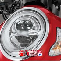 Garnish Headlight (Hiasan Lampu Depan) All New Scoopy Original Honda