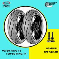 Paket Ban Motor Matic // ZENEOS ZN62 90/80 - 100/80 Ring 14 Tubeless