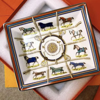 Luxury tray ashtray horses