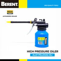 BERENT Alat Pelumas Pompa Oli Selang Fleksibel Oil Can Gun Pot BT9022