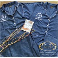 Gift BoxSet Piyama/Pajamas COUPLE with Custom BORDIR + EXCLUSIVE BOX