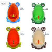 Pispot potty toilet training anak lelaki / Potty kodok / pee trainer