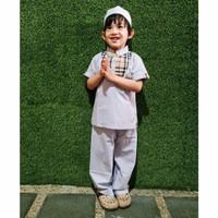 Setelan Baju Muslim Zaky 1 - 10 Tahun Maxkenzo Setelan Koko Anak