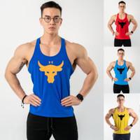 Singlet gym olahraga fitness kaos nike adidas 7