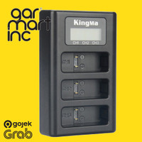 KingMa Triple Desktop Charger for GoPro Hero 5 / 6 / 7 Black