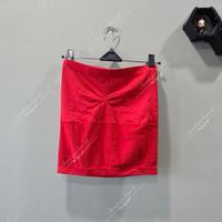 Tube top women/ wanita kemben warna merah / Red preloved