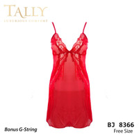 TALLY Bj 8366 Baju tidur Seksi lingerie Bahan Lace Brokat
