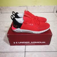 Under Armour UA HOVR™ SLK EVO Perf Suede Red Running Shoes Original