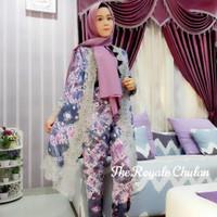 Baju Set Jumputan 4 Modern Asli Palembang