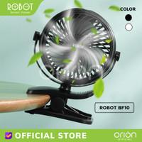 ROBOT Kipas Angin Portable RT-BF10 Kipas Meja Mini Fan 720 Rotate Clip