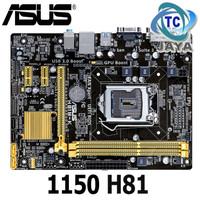 Motherboard / MOBO Intel Socket LGA 1150 H81 Asus