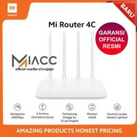 Xiaomi Official Mi Router 4C 4 Antena Memori 64 MB Wifi RESMI ORIGINAL