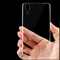 Lenovo K3 A6000 - Clear Soft Case TPU Casing Cover Transparan Jelly Si