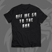 Street Tee (Body Fit) Barila Baju Kaos Tshirt Bodyfit Unisex Sablon - S
