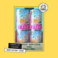 Wet Food Kucing - Super Cat Baby Kitten Tuna