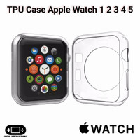 TPU Case Apple Watch 1 2 3 4 5 38mm 40mm 42mm 44mm Soft Silikon iWatch