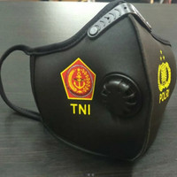 Masker TNI POLRI Spandex Ventilator Bahan Premium & Exclusive
