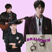 Anting Ring Tanpa TIndik ala Han Seojun True Beauty | aksesoris anting