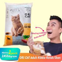 MAKANAN KUCING ORI CAT CATFOOD REPACK 1KG