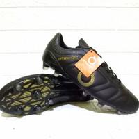 Sepatu Bola Ortuseight JOGOSALA terlaris Free Kaos Kaki Komponen Ori - Hitam, 38