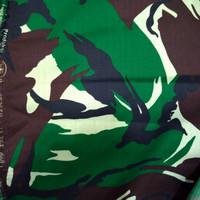 kain doreng loreng bahan wool untuk PDL TNI